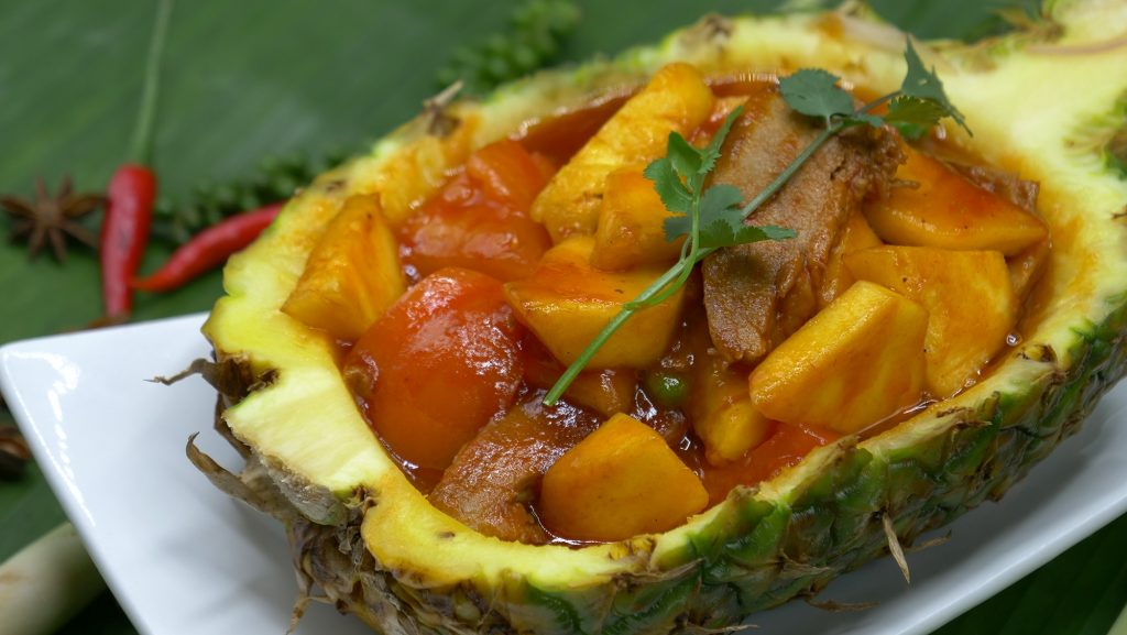Canard à l'Ananas | Restaurant Asiatique Kok Ping