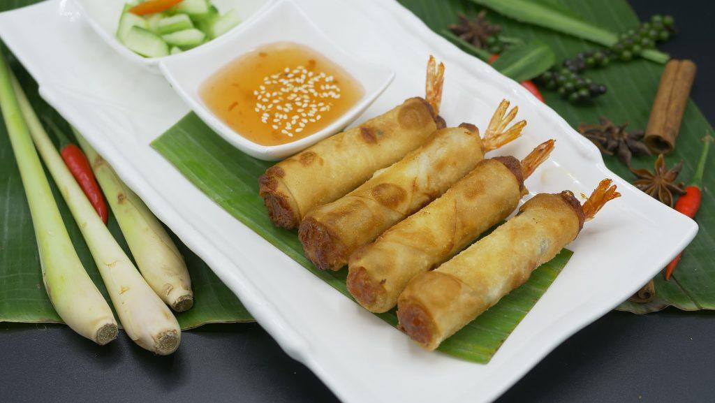 Cuisine Asiatique à Paris avec les Nems aux crevettes