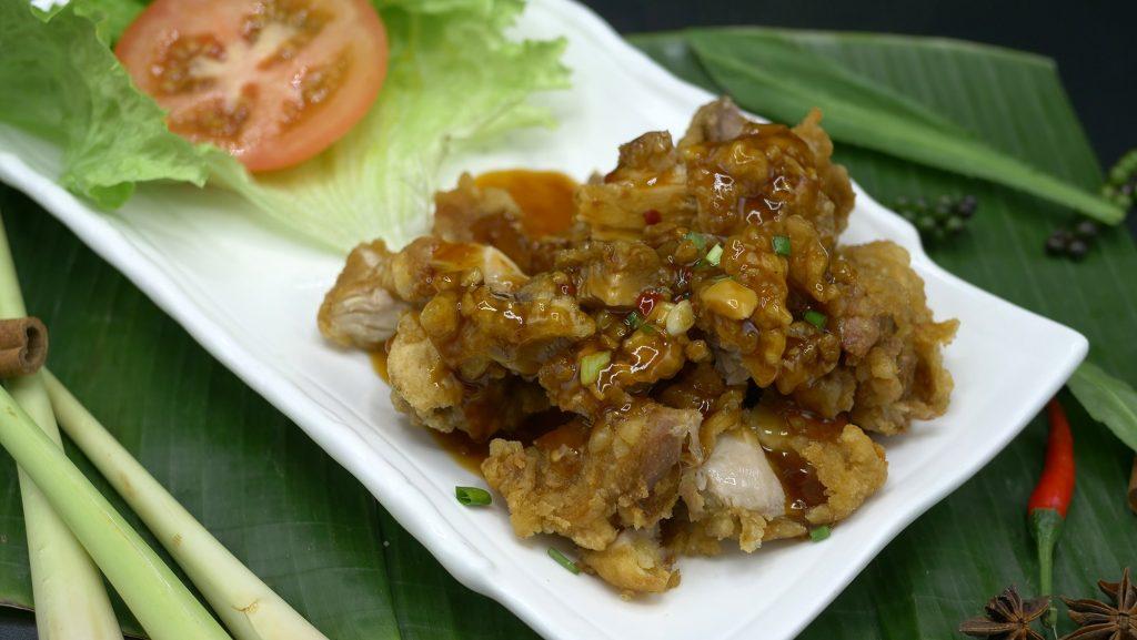 Spécialité de Chine : le poulet croustillant du chef !