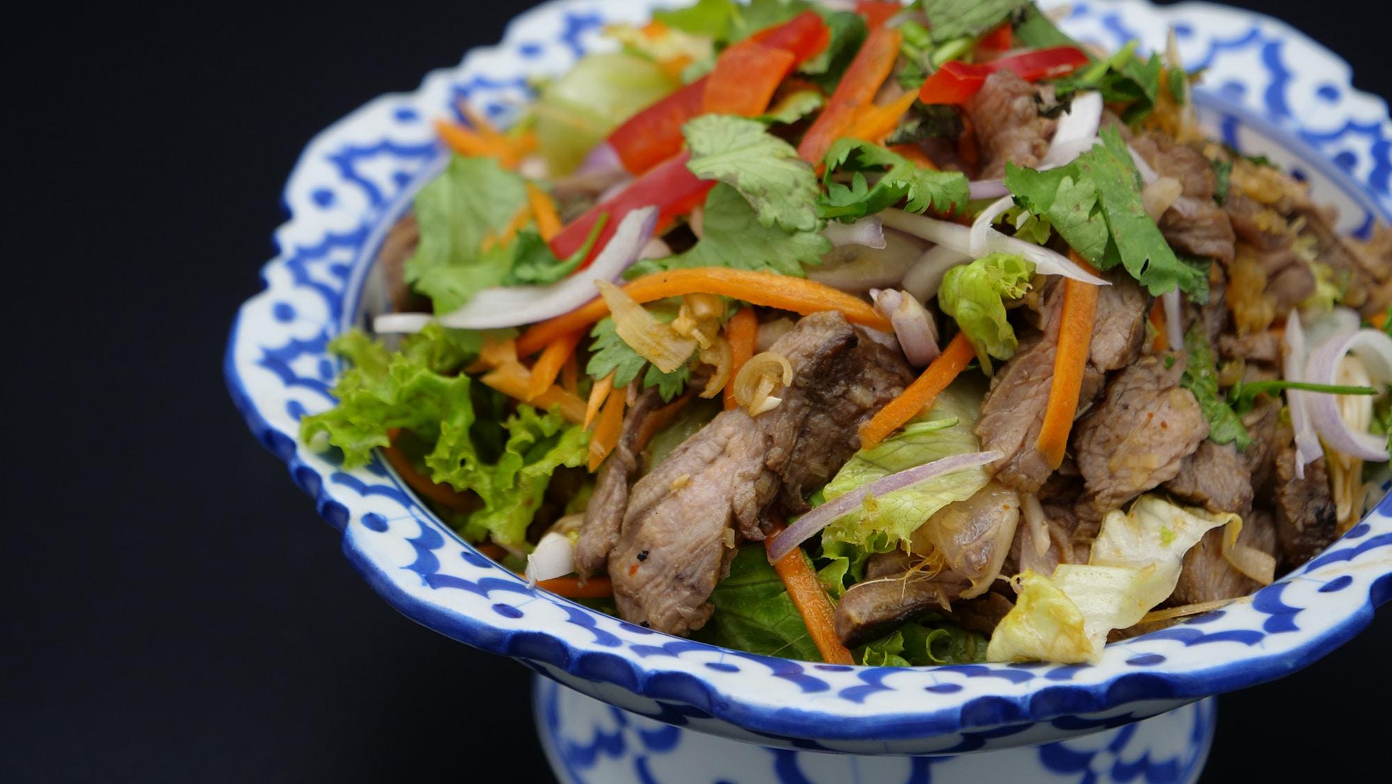 Salade Thai au Boeuf Grillé | Yam Nua