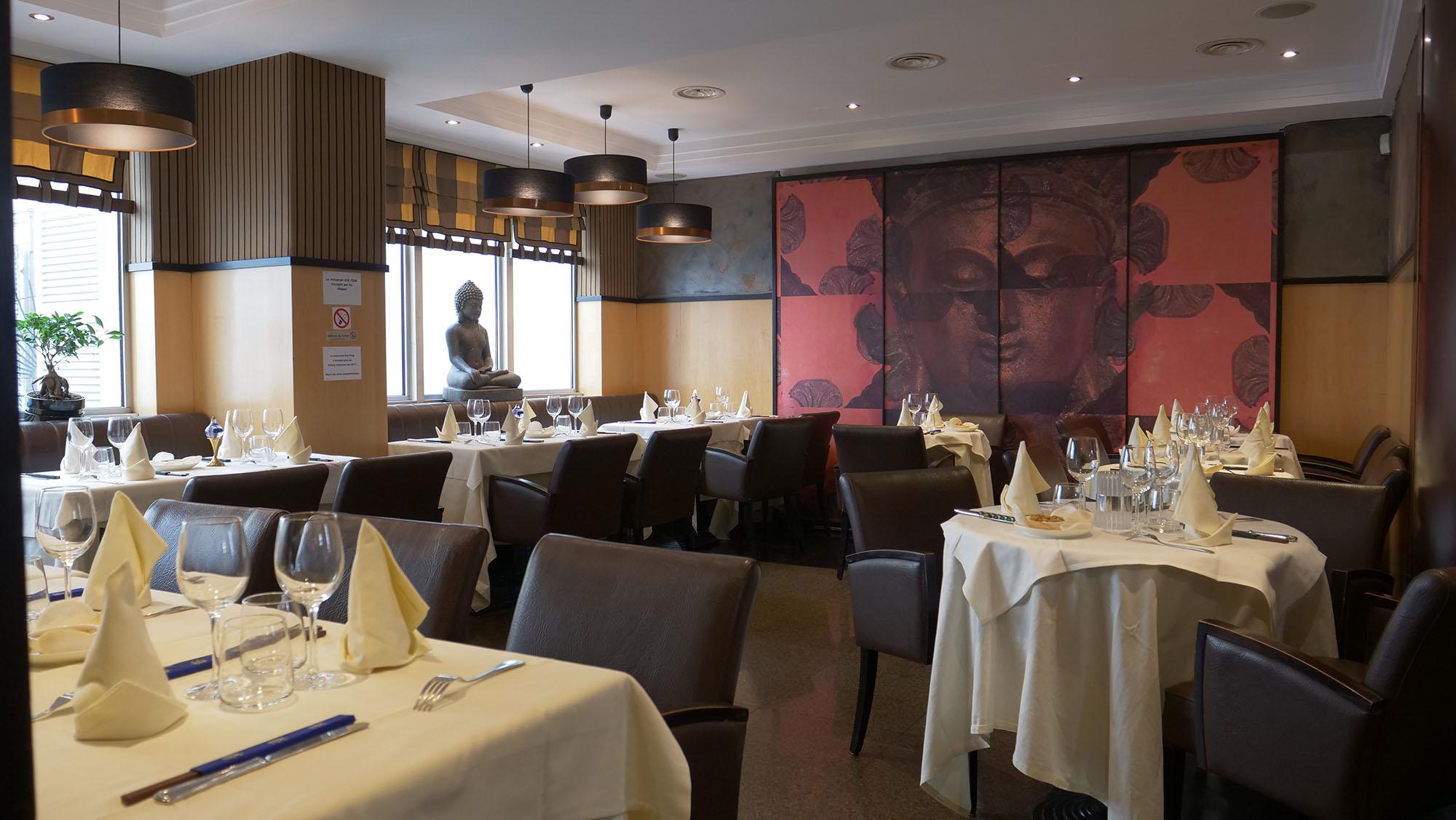 Salle du restaurant Chinois Kok Ping à Paris