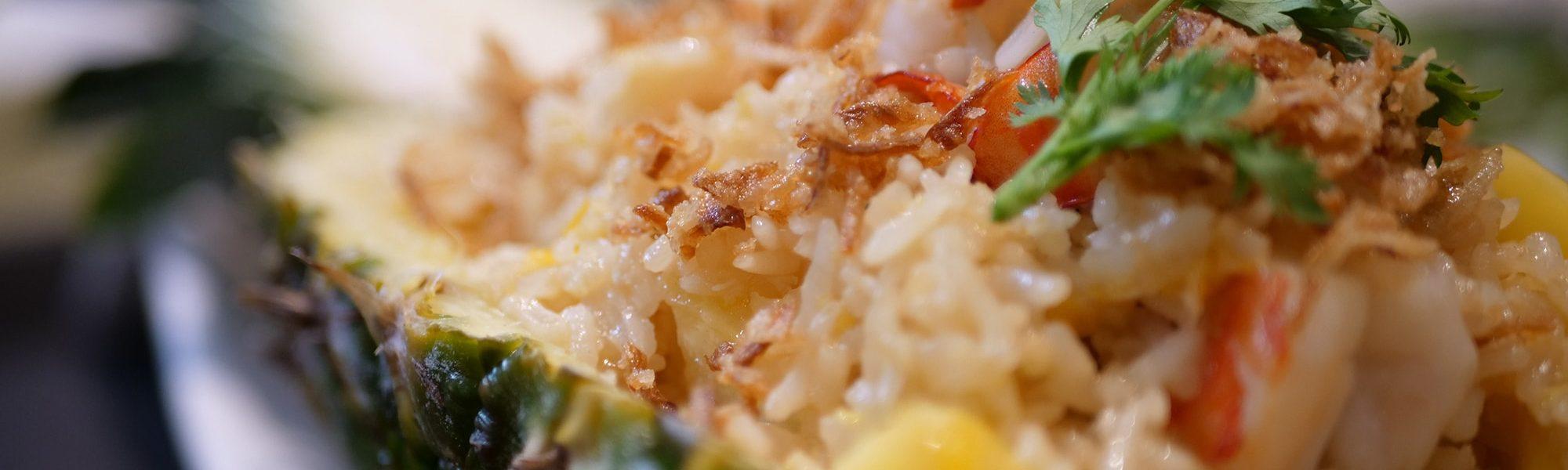 Plat Thailandais | Riz sauté à l'Ananas | Kok Ping Paris